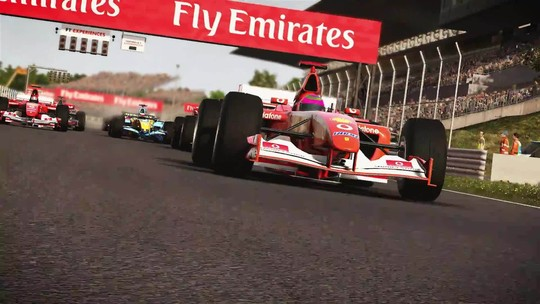 Novo trailer de F1 2017 traz disputas com carros clássicos e atuais