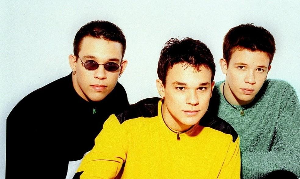 Kiko, Leandro e Bruno eram três dos brasileiros mais famosos no ano 2000 (Foto: Divulgação)