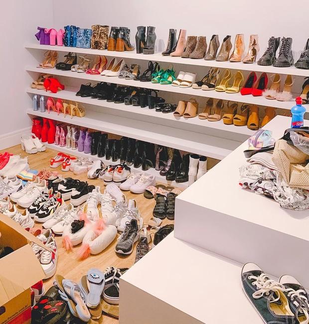 Closet de sapatos Na Cardoso (Foto: Reprodução/Instagram)