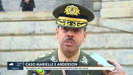Secretário de segurança diz que polícia fará reprodução simulada da morte de Marielle