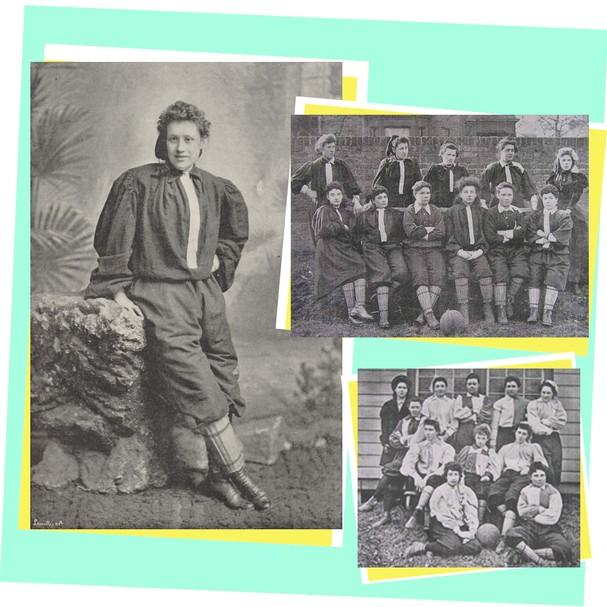 Resultado de imagem para LIFESTYLE De 1894 a 2019: a (r)evolução do futebol feminino