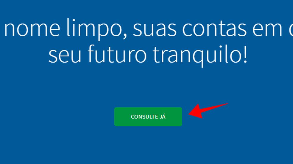 Realize uma consulta de CPF no Consumidor Positivo da Boa Vista (Foto: Reprodução/Paulo Alves)