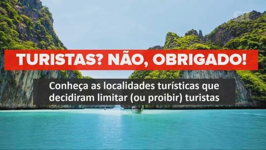 Conheça os destinos turísticos que querem receber menos visitantes