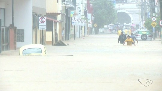 Chuva inunda cidades do ES e previsão é de mais instabilidade
