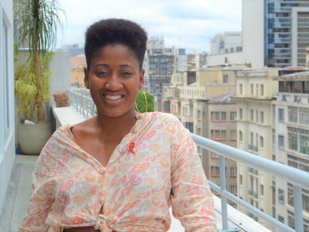 """Micaela Cyrino: """"Sou mulher negra, vivendo com o HIV desde que nasci"""" (Foto: Day Rodrigues)"""