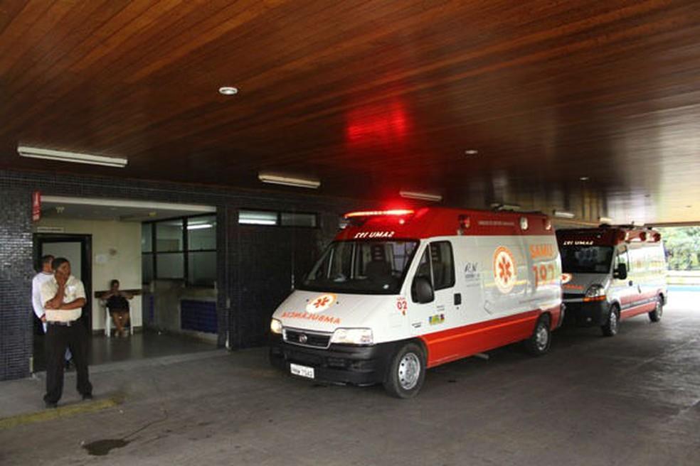 Greve de vigilantes causou suspensão das visitas a pacientes do Wlafredo Gurgel (Foto: Divulgação/Assessoria Hospital Walfredo Gurgel)