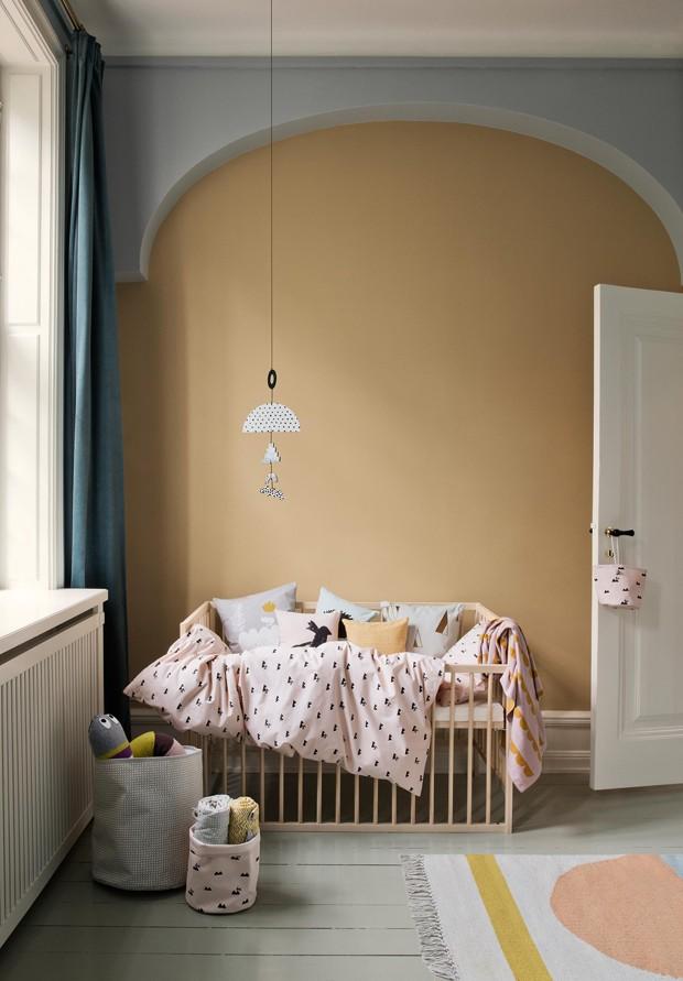 Décor do dia: tons pastel no quarto do bebê (Foto: Divulgação)