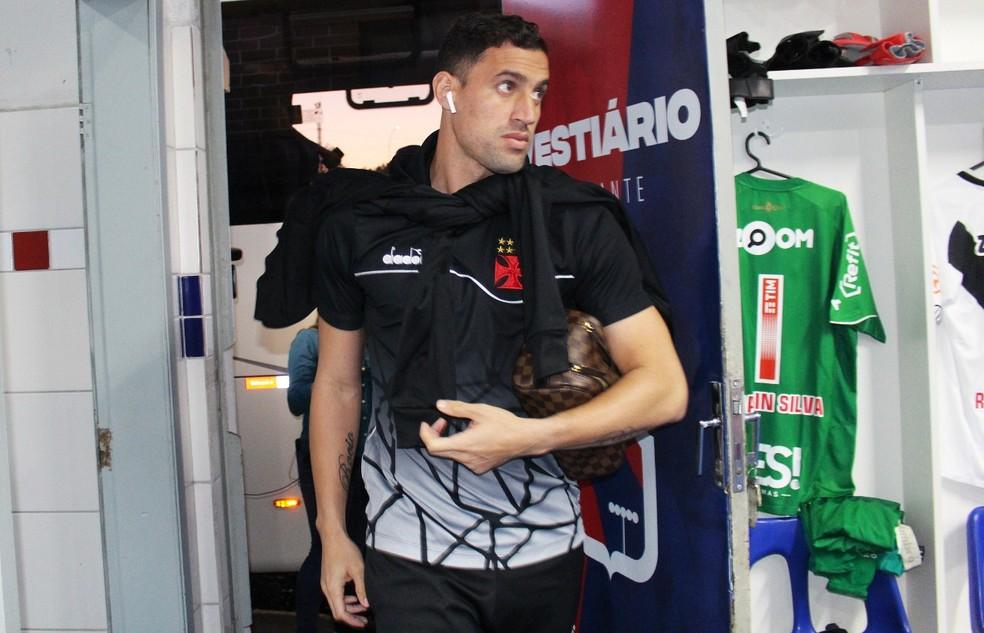 Martín Silva está de saída do Vasco — Foto: Carlos Gregório Jr./Vasco