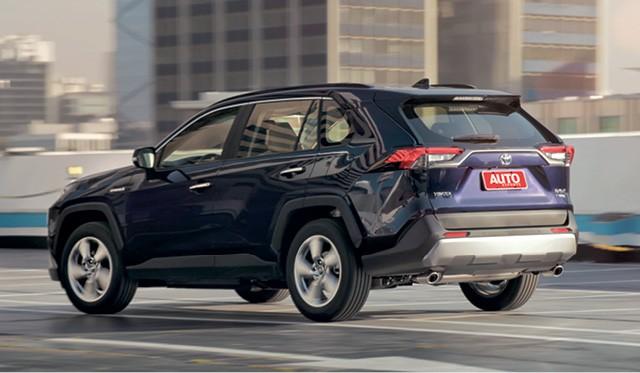 Toyota RAV4 SX hybrid (Foto: Leo Sposito)