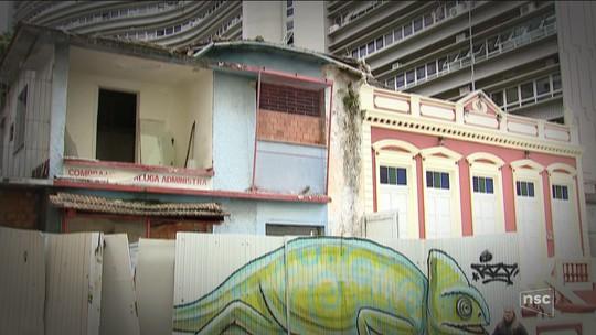 SC tem 170 imóveis abandonados, aponta relatório dos bombeiros