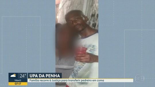 Família entrou na justiça pra transferir homem em coma