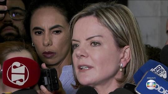 PGR pede condenação de Gleisi e pagamento de R$ 4 milhões