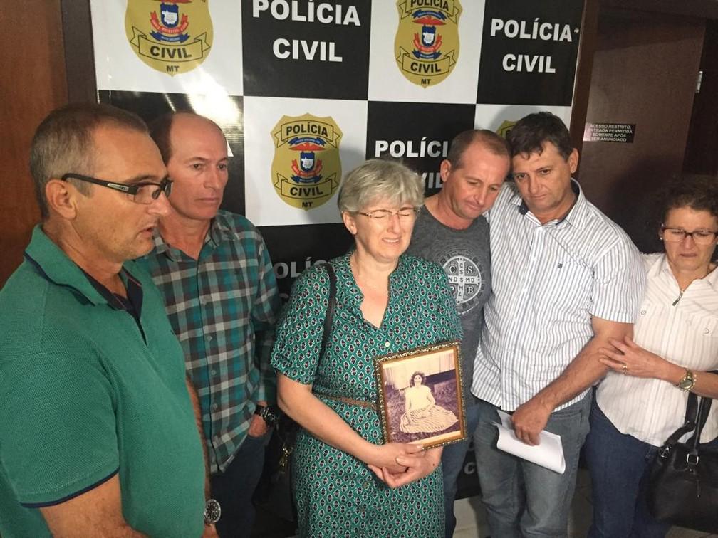 Irmãos investigam, descobrem que pai matou a mulher em SC há 37 anos e denunciam crime em Mato Grosso — Foto: João Ricardo da Cruz/Cenário MT