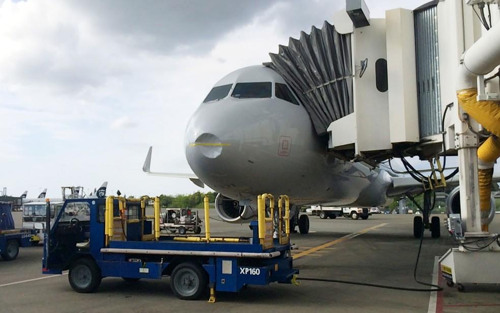 Bêbado, carregador de bagagens dorme em avião em Kansas e acorda em Chicago (foto ilustrativa) — Foto: AP