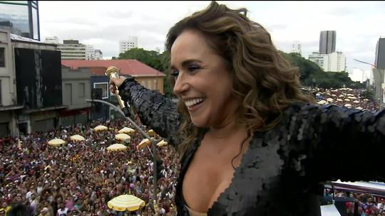 Daniela Mercury fecha carnaval de SP na Consolação