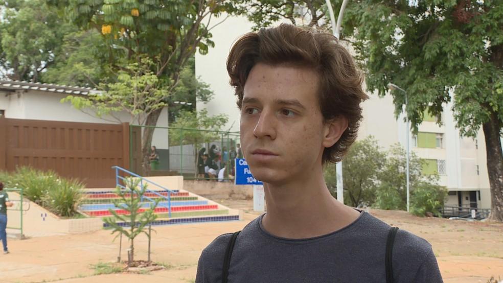 Professor Wendel Santana tinha contrato temporário com a Secretaria de Educação até o fim de 2019 — Foto: TV Globo/Reprodução