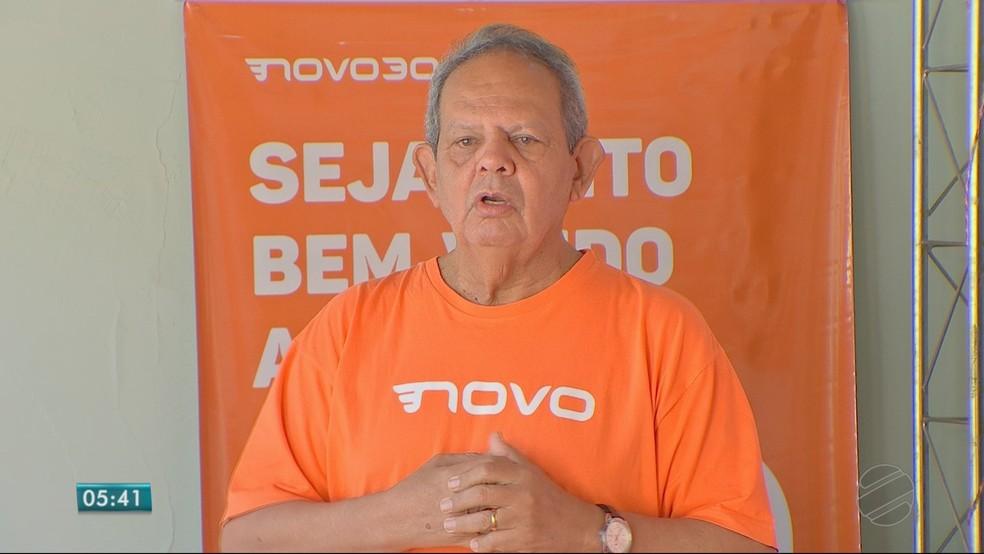 Waldir Caldas deve disputar vaga no Senado pelo partido Novo (Foto: TVCA/Reprodução)