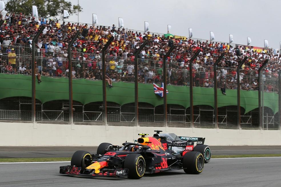 Boa presença de público no GP do Brasil de F1 — Foto: Getty Images
