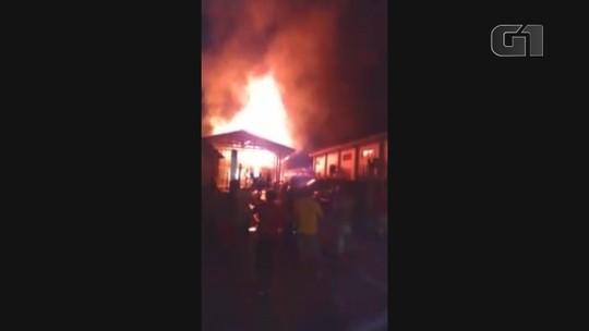Homem é preso suspeito de provocar dois incêndios em cerca de 6 horas, no Sul do AP