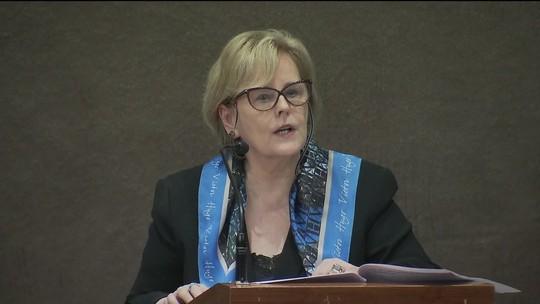 'Não houve falha da Justiça Eleitoral', diz Rosa Weber sobre combate a conteúdos falsos