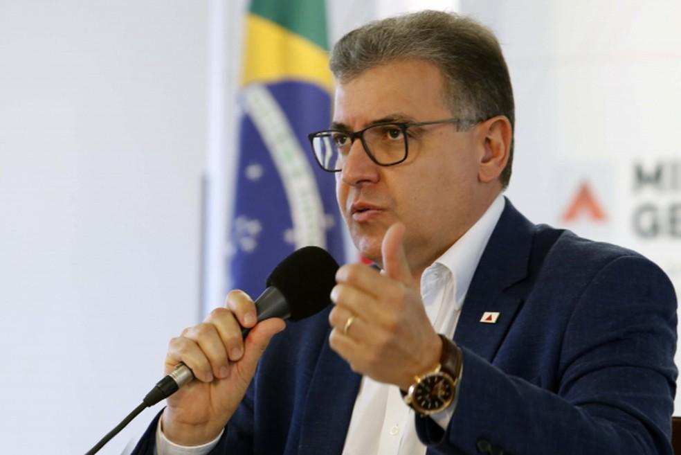 Secretário de Saúde de Minas Gerais, Carlos Eduardo Amaral  — Foto:  Gil Leonardi/Governo de Minas Gerais/Divulgação