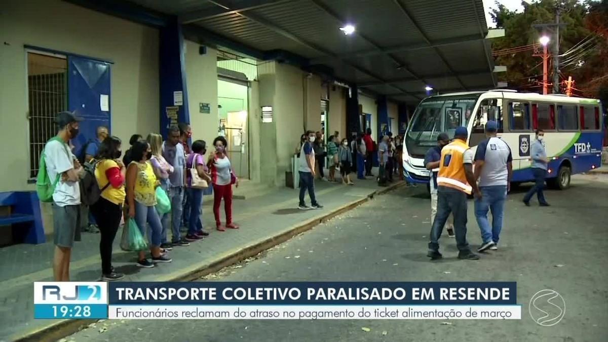 Paralisação afeta transporte coletivo em Resende