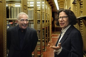Martin Scorsese e Fran Lebowitz