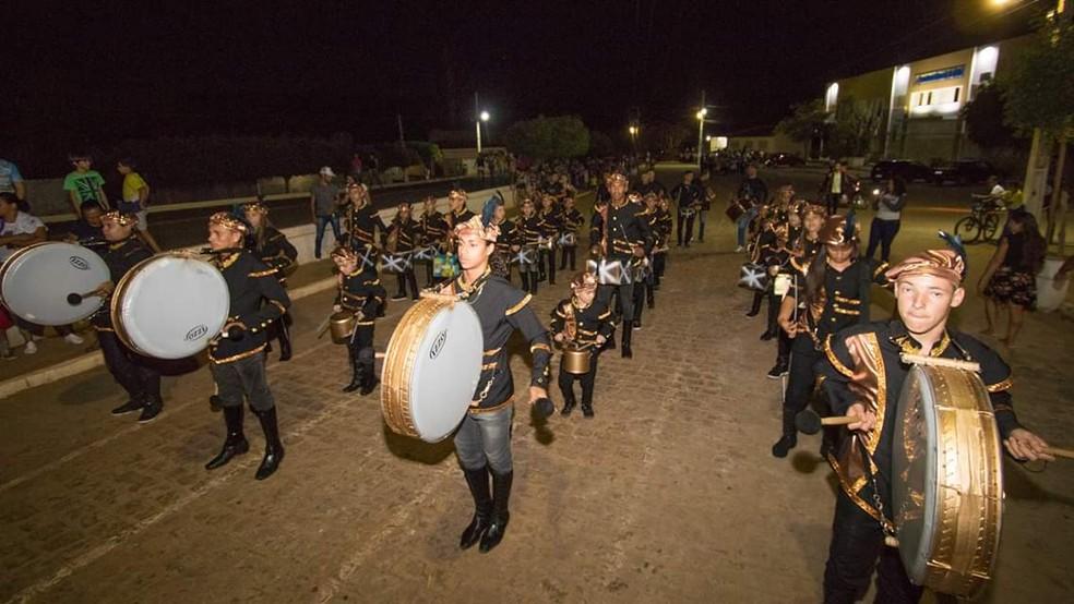 Projeto é composto por integrantes com faixa etária entre 6 e 21 anos do Serviço de Convivência de Zabelê — Foto: Divulgação/Vagner Dantas