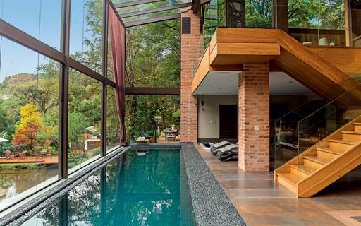 Piscinas 30 projetos de todos os tamanhos e estilos for Piscina in casa
