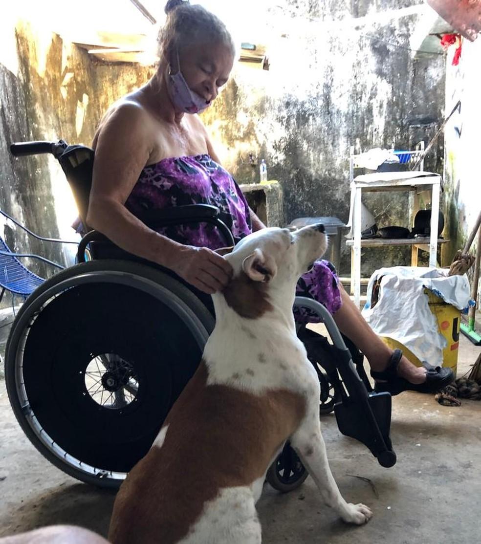 Josefa Masceno, de 74 anos, morreu com Covid-19 em Teresina — Foto: Arquivo Pessoal