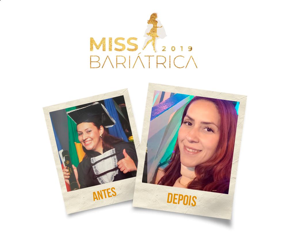 Daniela Baldini, 34 anos, candidata do Miss Bariátrica  — Foto: Divulgação