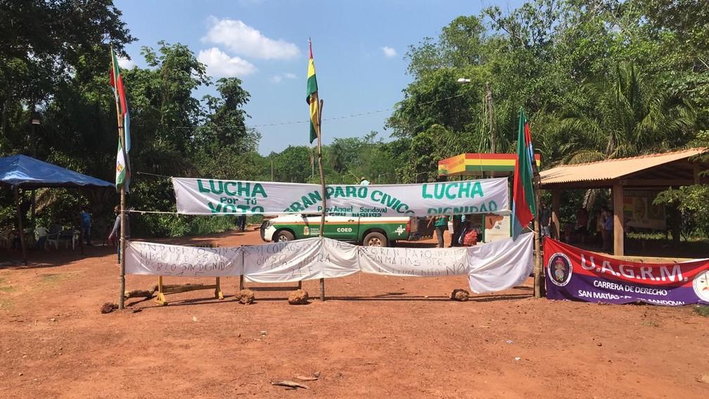 Protesto continua por tempo indeterminado — Foto: José Pereira/TVCA