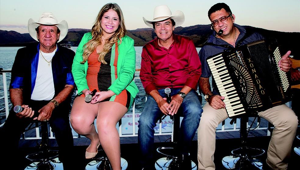 Trio Parada Dura convida Marília Mendonça para DVD (Foto: Divulgação)