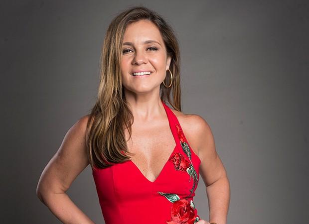 Adriana Esteves vive a vilã Laureta (Foto: Divulgação/TV Globo)