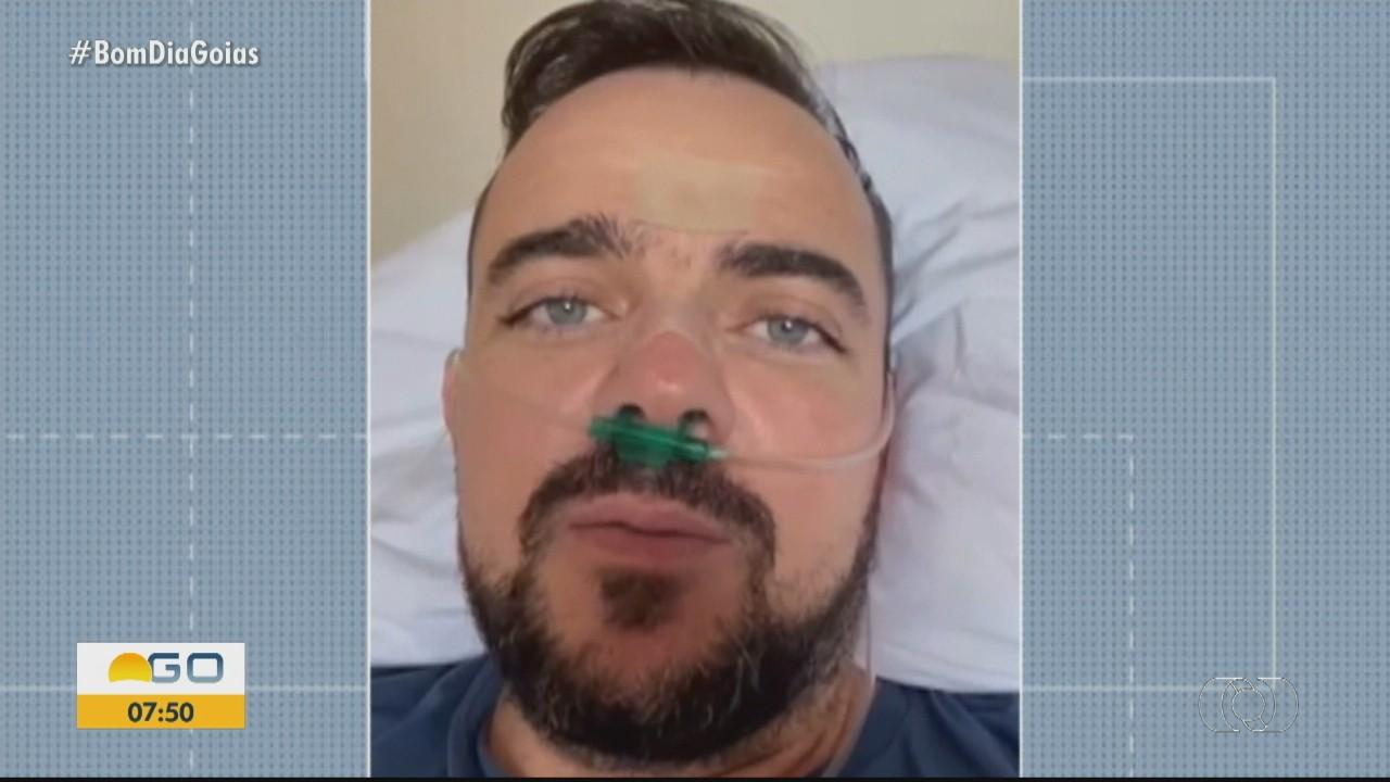 Prefeito Gustavo Mendanha relata 'dias difíceis' durante internação para tratar a Covid-19