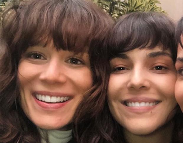 Mariana Ximenes e Tainá Müller  (Foto: Reprodução/Instagram)