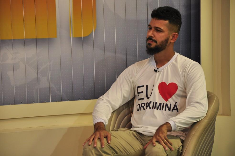 William Fonseca (Delegado Fonseca), prefeito de Oriximiná — Foto: Geovane Brito/G1