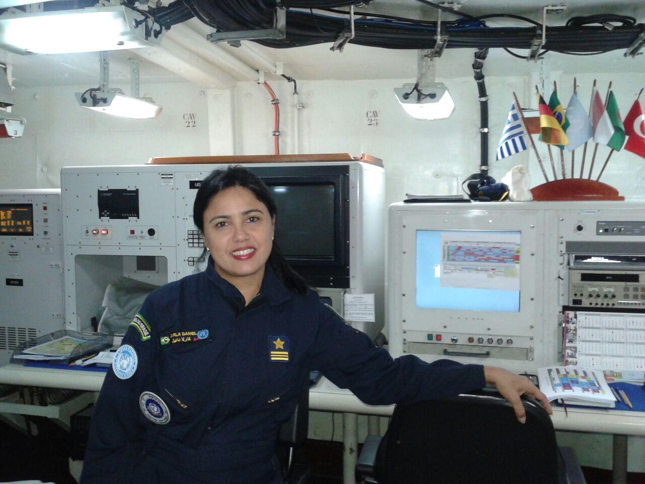 Capitão de fragata Carla Daniel