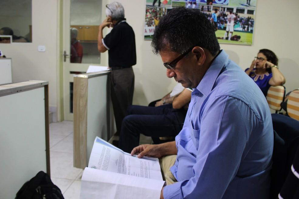 Parnahyba pode ser punido por ter descumprido regulamento da Copa Piauí (Foto: Josiel  Martins)