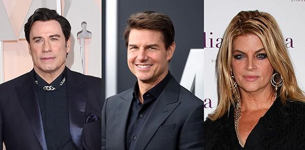 John Travolta, Tom Cruise e Kirstie Alley são alguns dos membros da Cientologia (Foto: Getty Images)