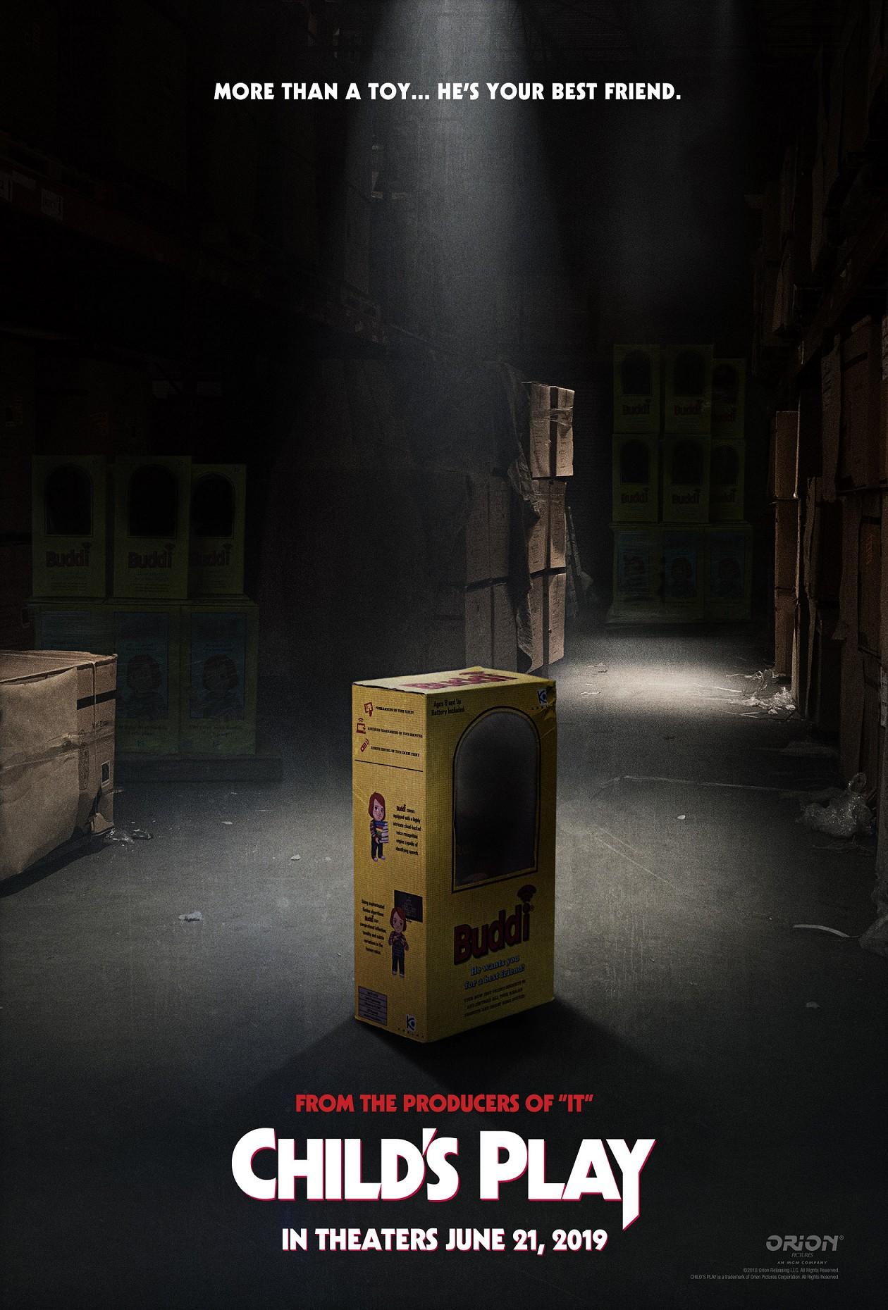O cartaz do remake de Brinquedo Assassino, com lançamento marcado para junho de 2019 (Foto: Divulgação)