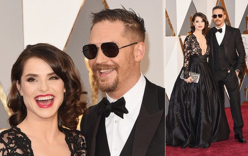 Tom Hardy e Charlotte Riley