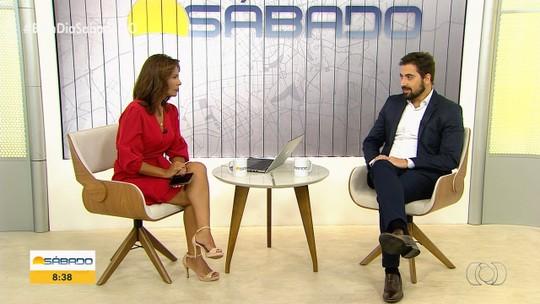 Médico Bruno Diniz fala sobre glaucoma no Bom dia Sábado Goiás