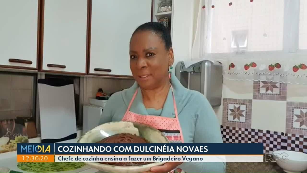 Brigadeiro Vegano foi o desafio desta semana da Dulcinéia Novaes