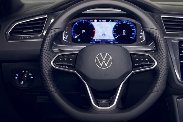 Volkswagen Tiguan 2021 Volante (Foto: Divulgação)