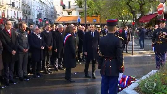 França homenageia 130 vítimas dos atentados de novembro de 2015