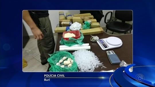 Polícia Civil prende suspeitos de participar de grupo criminoso em Buri