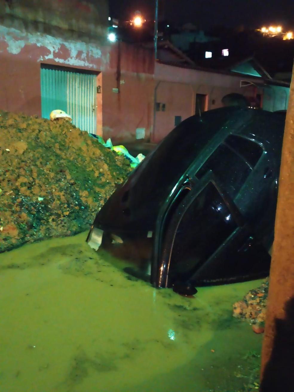Motorista alega que local não estava sinalziado — Foto: David Aryel Soares Aguiar/ Arquivo pessoal