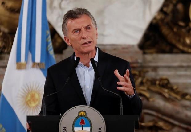O presidente da Argentina, Mauricio Macri (Foto: EFE)