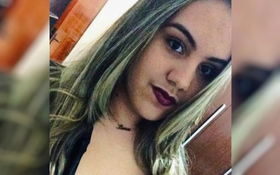 Lara Fleury foi baleada por colega dentro da escola, em Goiânia (Foto: Reprodução/TV Anhanguera)